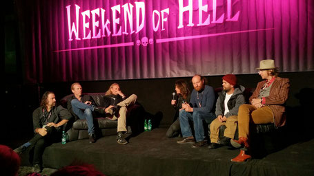 Lew Temple from the Walking Dead at Weekend of Hell