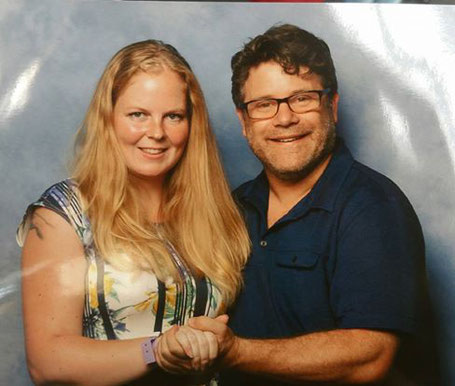 Photo op with Sean Astin at Comic Con Amsterdam