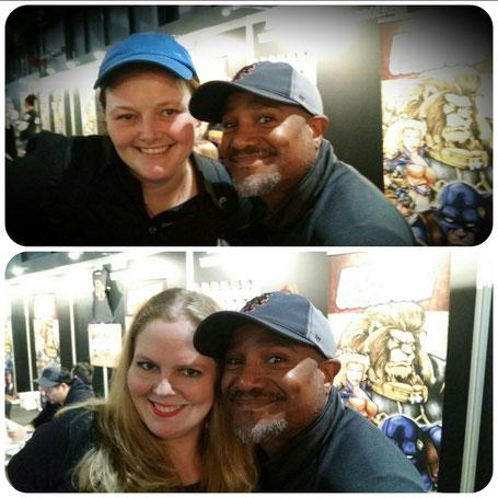 Selfies with Seth Gilliam