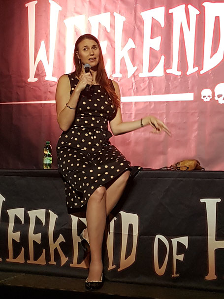 Erika Ervin at Weekend of Hell