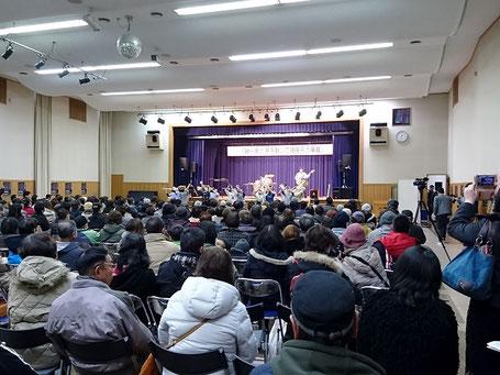 厚真町復興イベント 会場全景