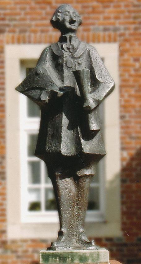 Schlaun-Plastik in Nottuln von Rudolf Breilmann