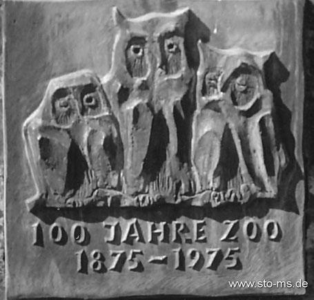 Relief im neuen Zoo