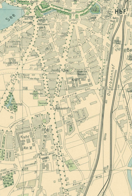 Kartenausschnitt 1931 - 6222.284.15
