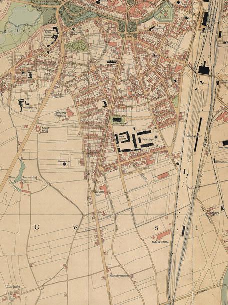 Kartenausschnitt 1903 - 6222.284.15
