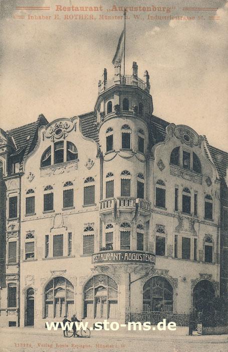 Die Augustenburg um 1910