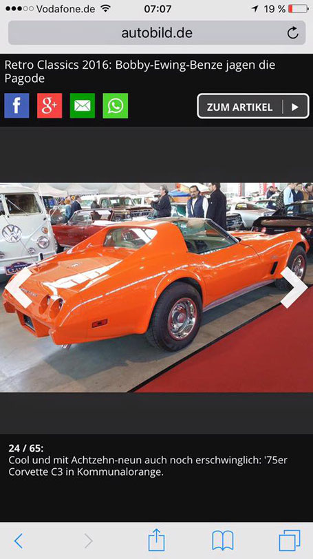 Corvette C3 1975