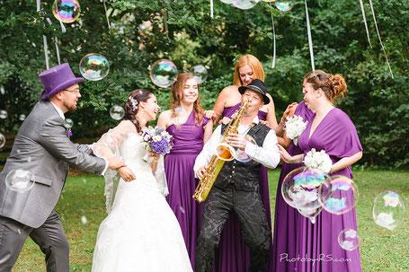 Saxsolo Hochzeit