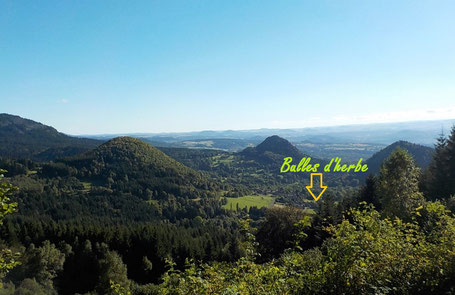Les Bulles d'Herbe sont des gites écologiques nichés dans le Meygal, Haute-Loire, Auvergne, France ! Immersion nature garantie !