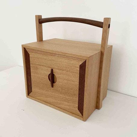 茶人の箱/おかもち・倹飩蓋。家具工房ZEROSSO、清水泰のオリジナル茶道具。