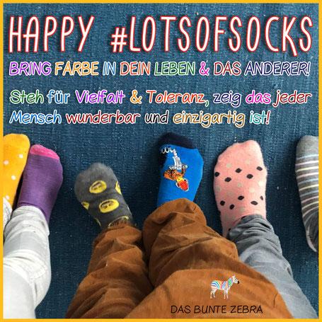 Lots of Socks - Bild mit bunten Socken
