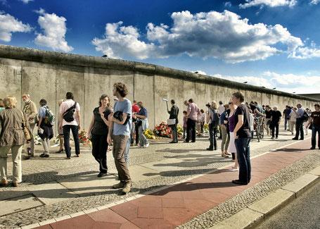Konstellationen wie zur Zeit des Mauerbaus