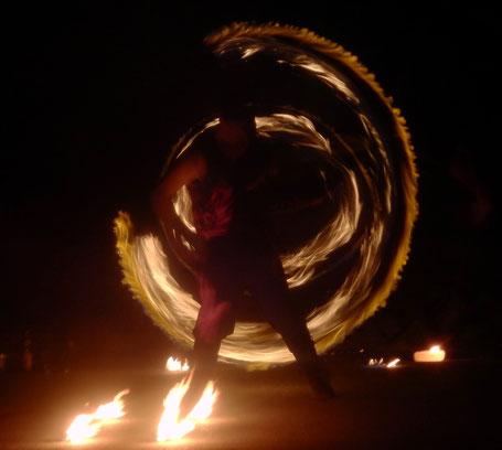 Ferro Ignique Feuershow Staff