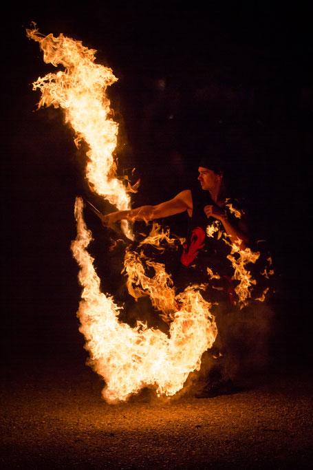 Ferro Ignique Feuershow lyco staff
