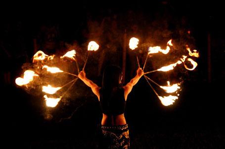Ferro Ignique Feuershow fächer