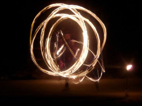 Ferro Ignique Feuershow Pois