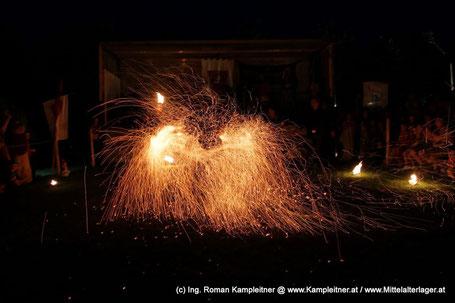 Ferro Ignique Feuershow Funkenpois