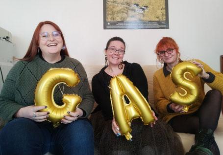 L'équipe du GAS Groupe d'Appui et de Solidarité