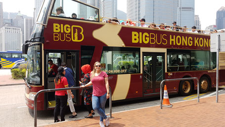 Big Bus sightseeing tour