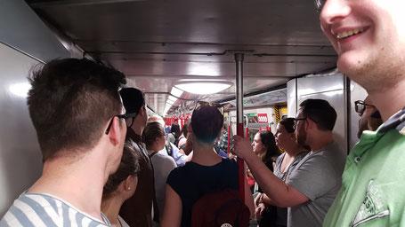 Metro-Ride to explore the city