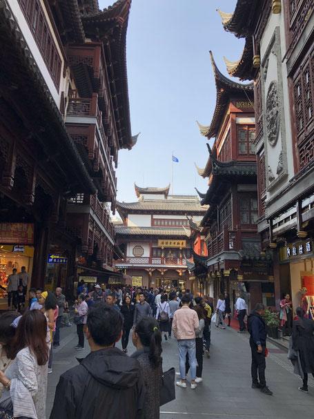 Yuyuan Tourist Mart: Traditional buildings