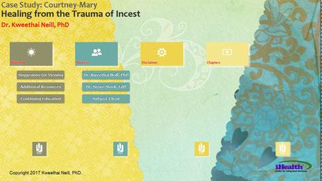 Screenshot of Healing the Trauma of Incest