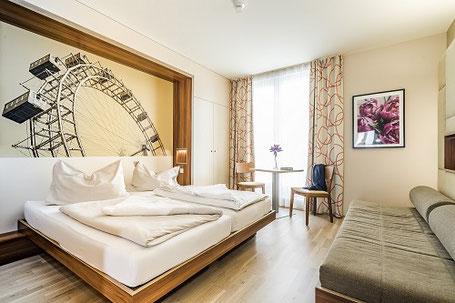 Zimmer im JUFA-Hotel Wien Simmering