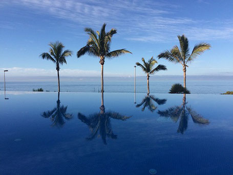 Infinity-Pool vom RIU Palace Meloneras