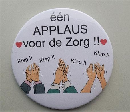 Applaus voor de zorg