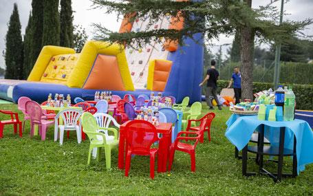 noleggio di gonfiabili per feste ed eventi a roma
