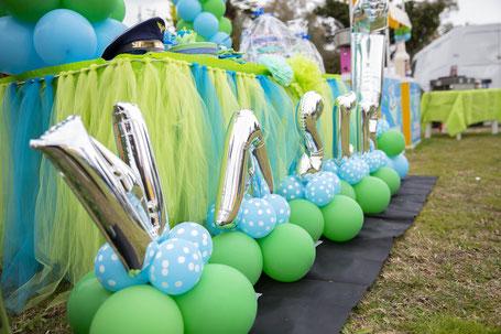 allestimento con palloncini per feste a roma