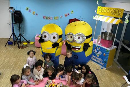 Noleggio di Mascotte per feste per bambini a Roma