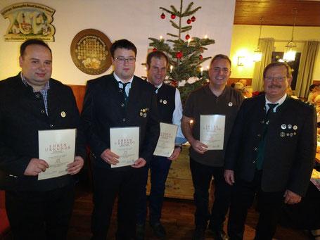 Ducke Rudolf, Stengel Christian, Abstreiter Markus, Eicheldinger Joahann, Haller Josef