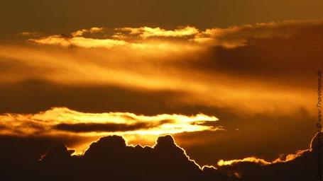 Sonnenuntergang in Quarteira