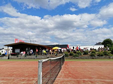 Bild: Clubhaus Tennisverein Rot-Weiss Ebsdorfergrund 1984 e.V. in Dreihausen