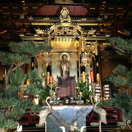 本山浄興寺のご本尊さまです。