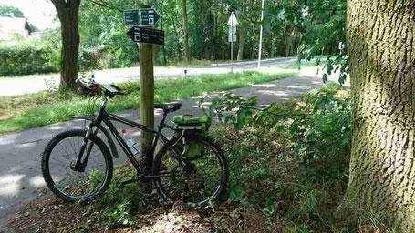 Das Fahrrad für die Radtouren in der Mark und in Berlin