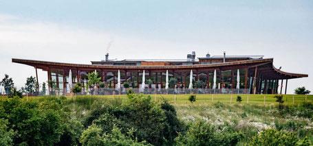 Eines unserer besonderen Bauwerke: das Heckers Restaurant in Gründau-Gettenbach