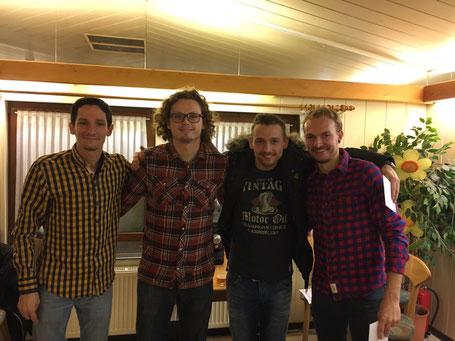 Boris B, Benjamin C, Simon F, Lars B