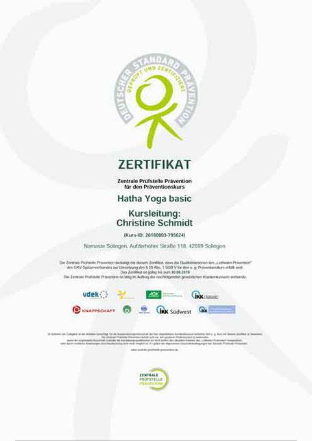 zertifizierter Kurs Krankenkassen Qualität wird geprüft