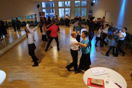 Abnahme des Deutschen Tanzsportabzeichens im Vereinsheim Wirkbau