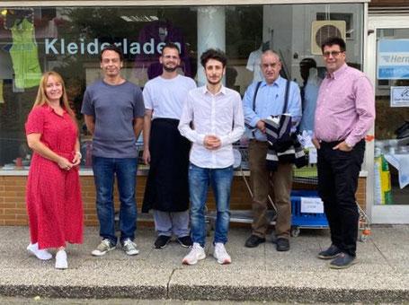 Tamara Schmidt, Janusch Leon Hobus, Wasim Alkhatib, Atilla Can Bulut, Peter Bulkow und Günther Langer (Foto: Günther Langer)