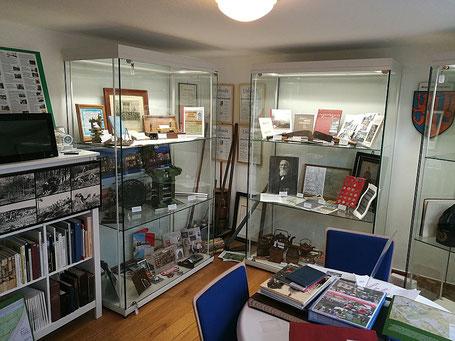 Das kleine Heimatmuseum von innen