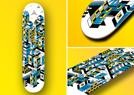 "Vamos Skateboards ""Invasion"" Deck now available at VMS Distribution Europe."