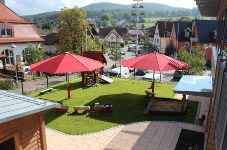may Großschirm SCHATTELLO ✅ in 55543 Bad Kreuznach Rheinland-Pfalz | FINK Sonnenschirme | Große Schirme als Sonnenschutz im Kindergarten