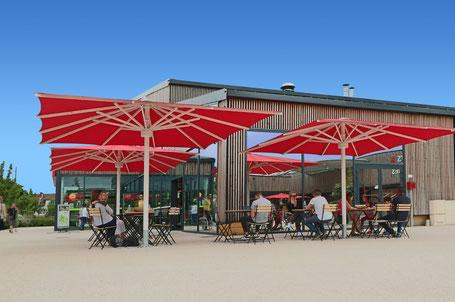 Sonnenschirme für Gastronomie und Gewerbe in Rödermark Messenhausen