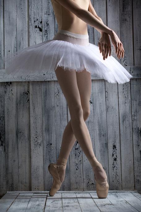 Ballerina auf der Spitze