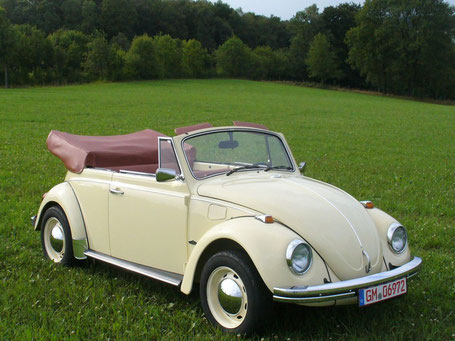 Restoration VW Beetle Convertible