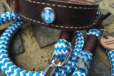 Hundehalsband aus Leder, Lederhalsband