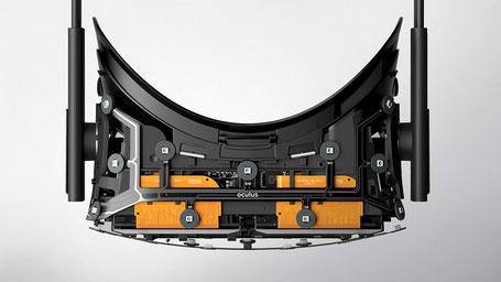 Oculus Rift ohne Gehäuse